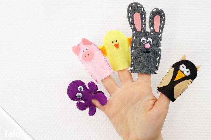 Fingerpuppen aus Filz
