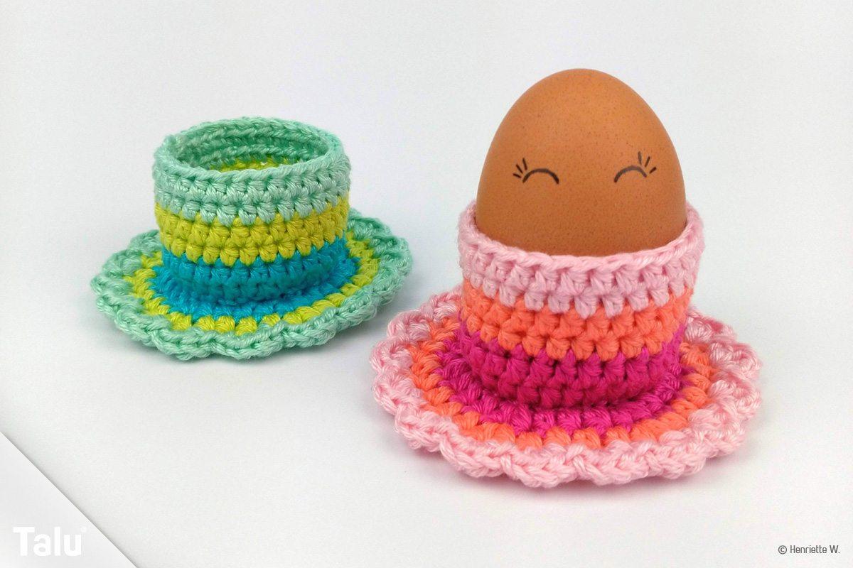 Eierbecher häkeln
