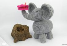 Elefant häkeln