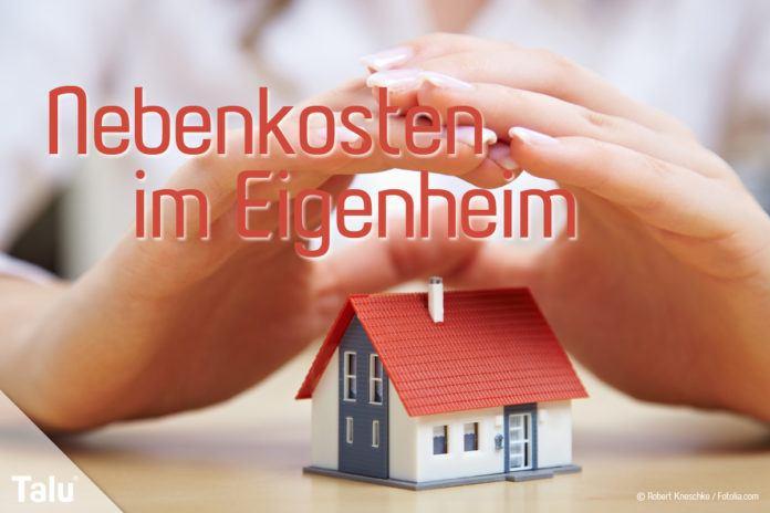 Nebenkosten im Eigenheim