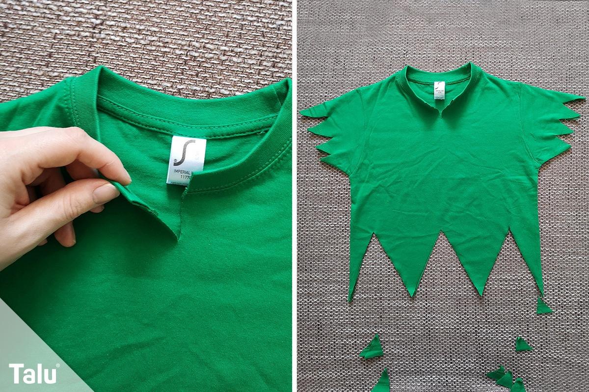 T-Shirt zuschneiden