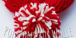 Pompons aus Wolle
