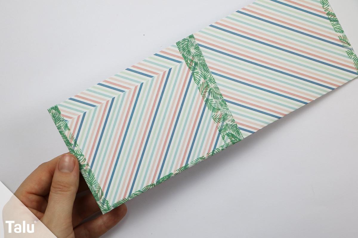 Geldbörse aus Papier