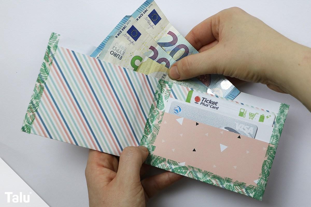 Portemonnaie aus Papier