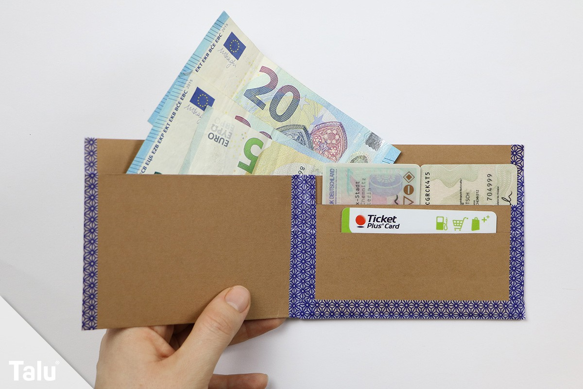 Papier-Geldbörse