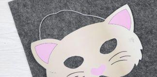 Tiermasken basteln