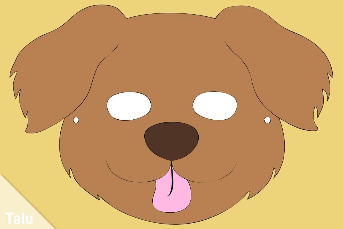 Hundemaske basteln