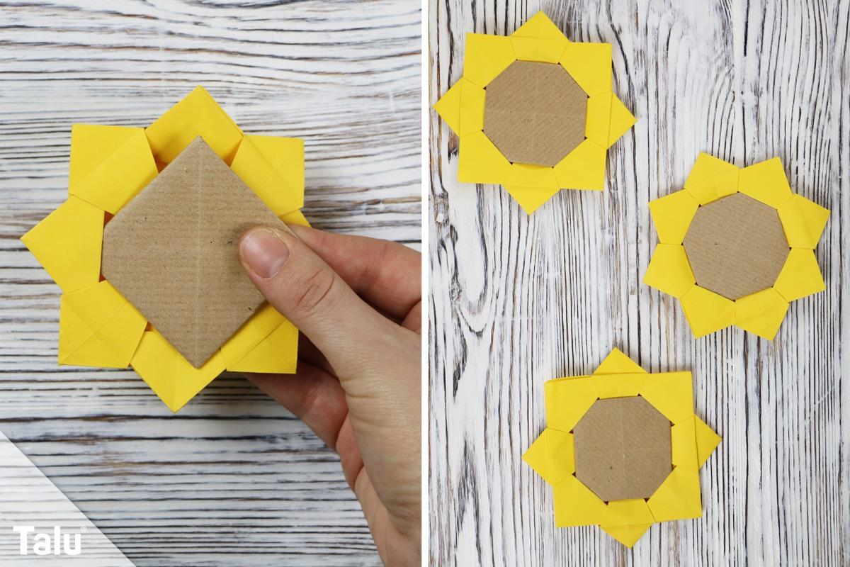 Origami Sonnenblume