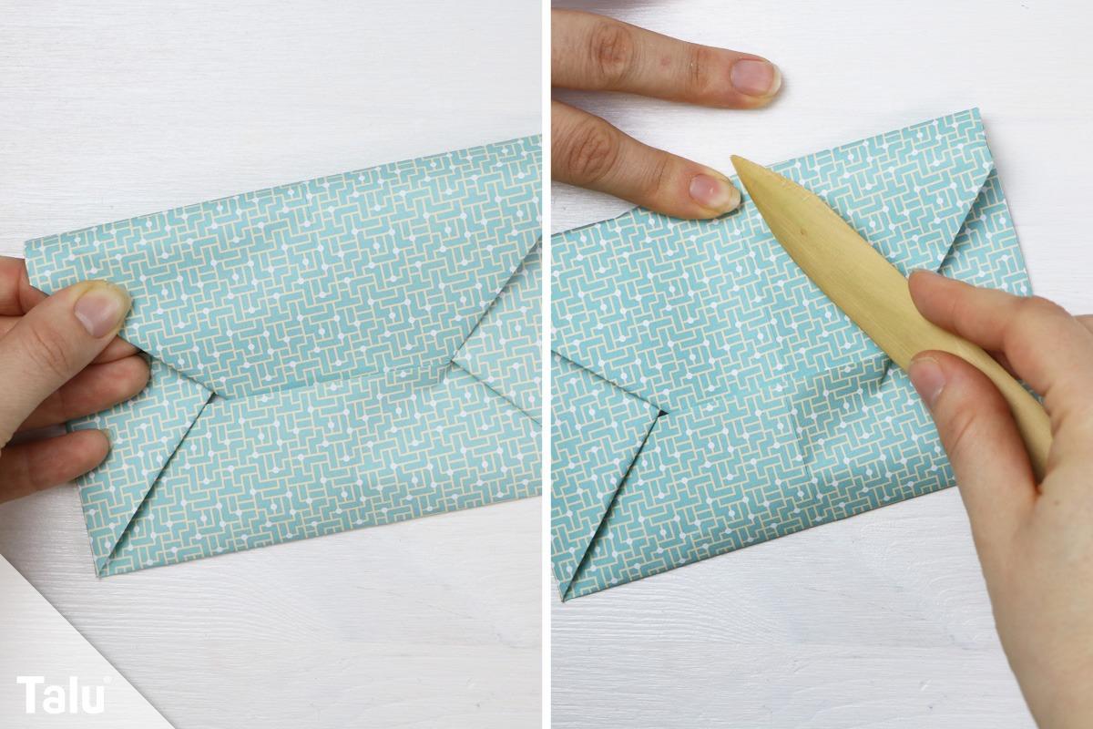 Kuvert basteln