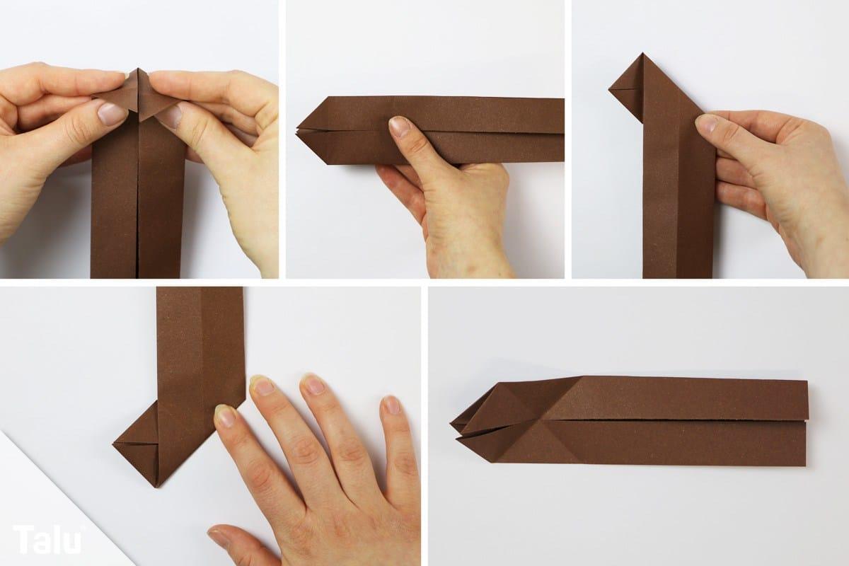 Origami Eichhörnchen