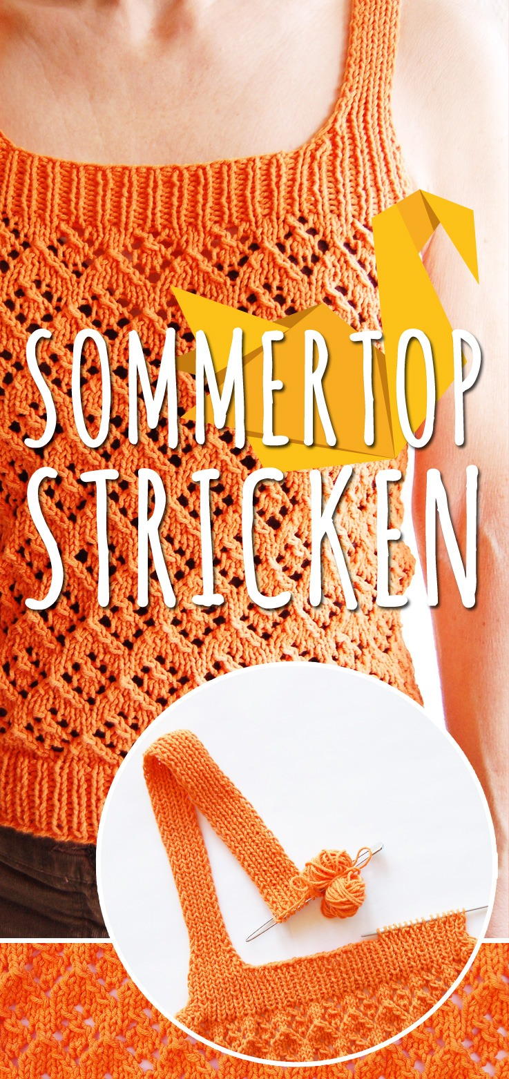 Sommertop stricken