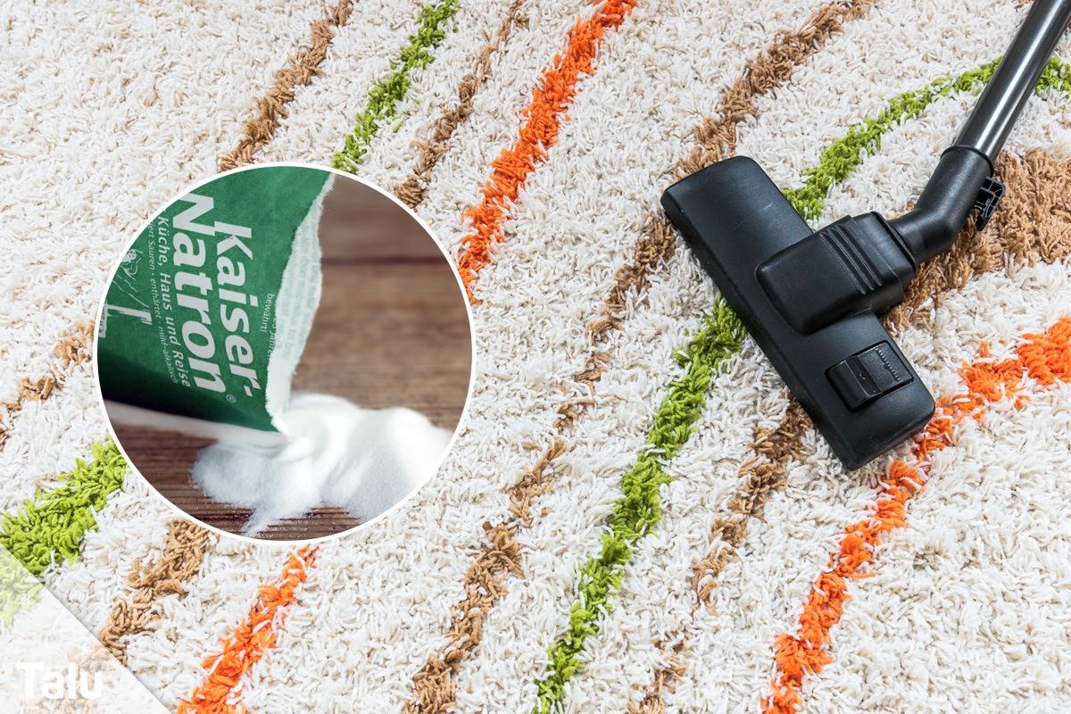 Natron für Teppich