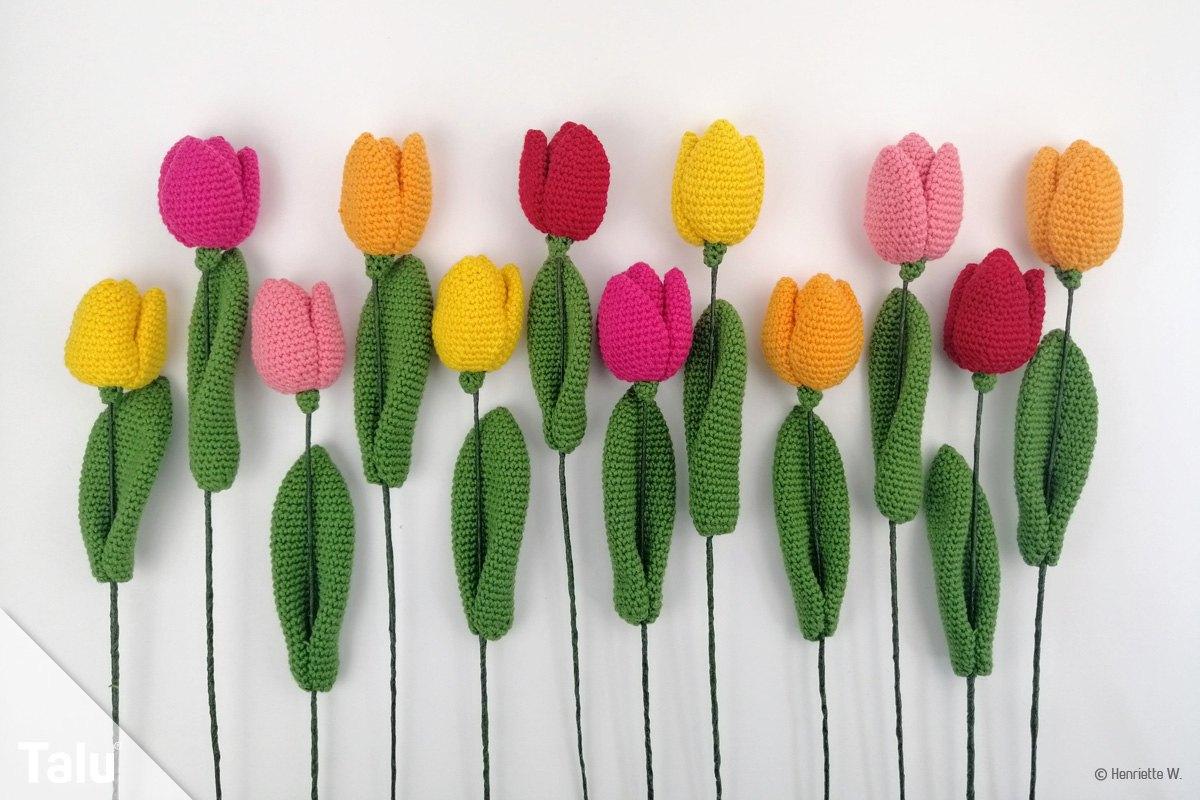 Häkel-Tulpen