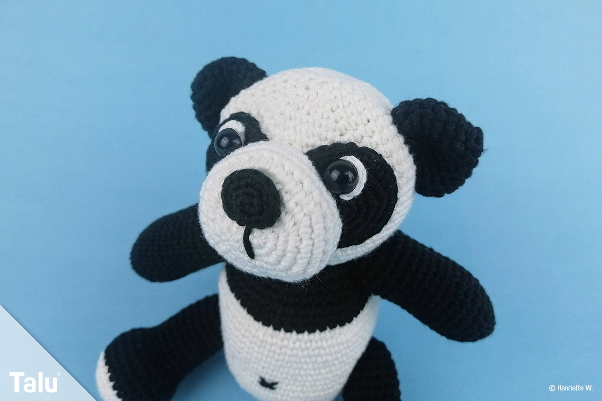 Amigurumi Panda häkeln – kostenlose & einfache Anleitung in 2020 ... | 800x1200