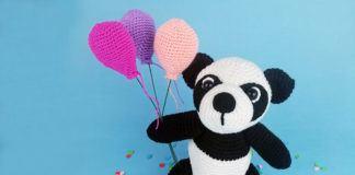 Panda häkeln