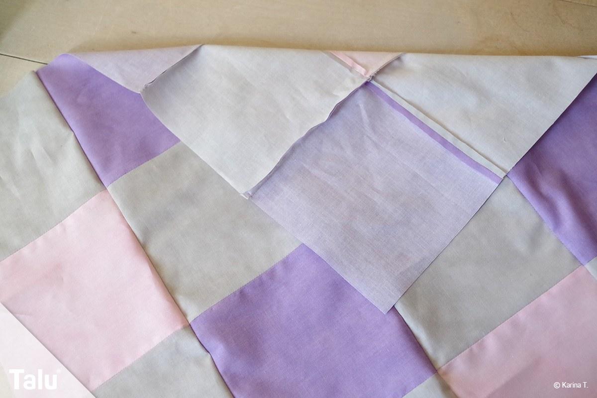 Decke quilten