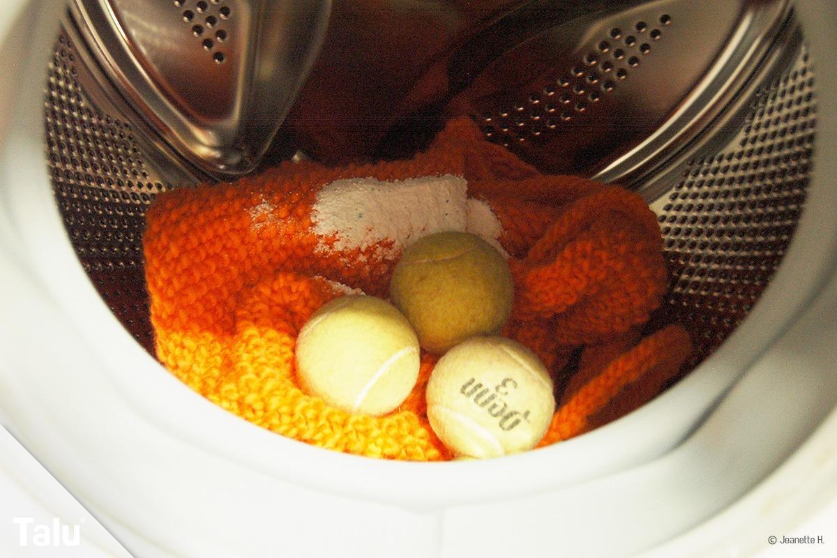 Filzen in der Waschmaschine