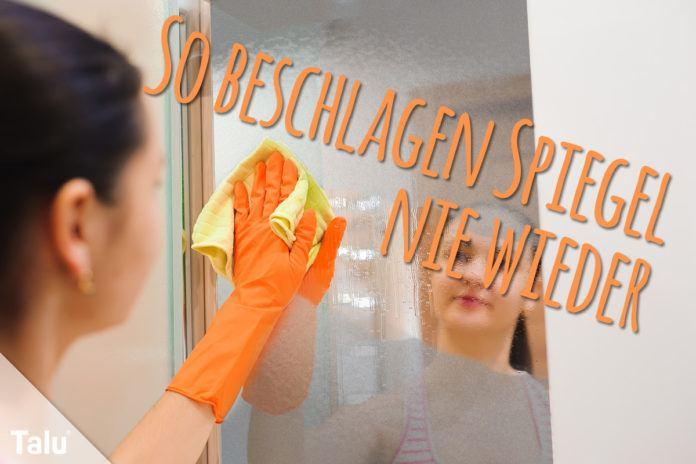 Badezimmerspiegel läuft an