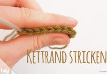 Kettrand stricken