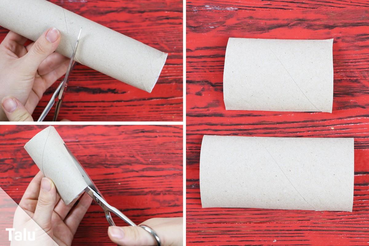 Papprolle zuschneiden