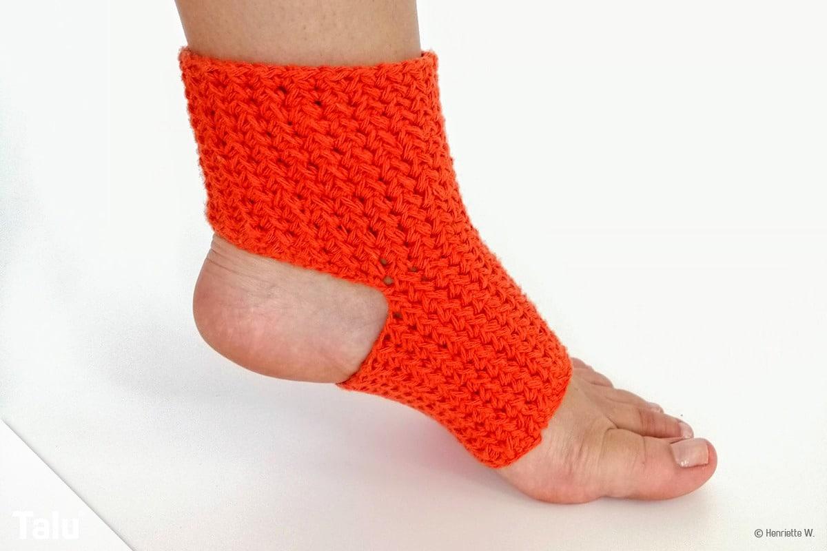 Yoga-Socken häkeln
