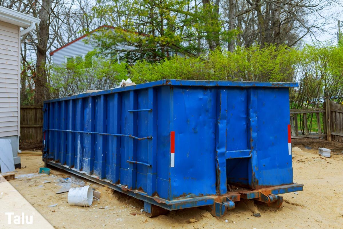 Container für Rigips
