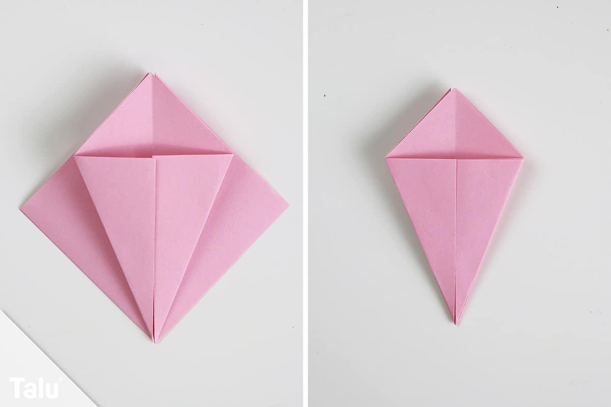 Origami Eis falten