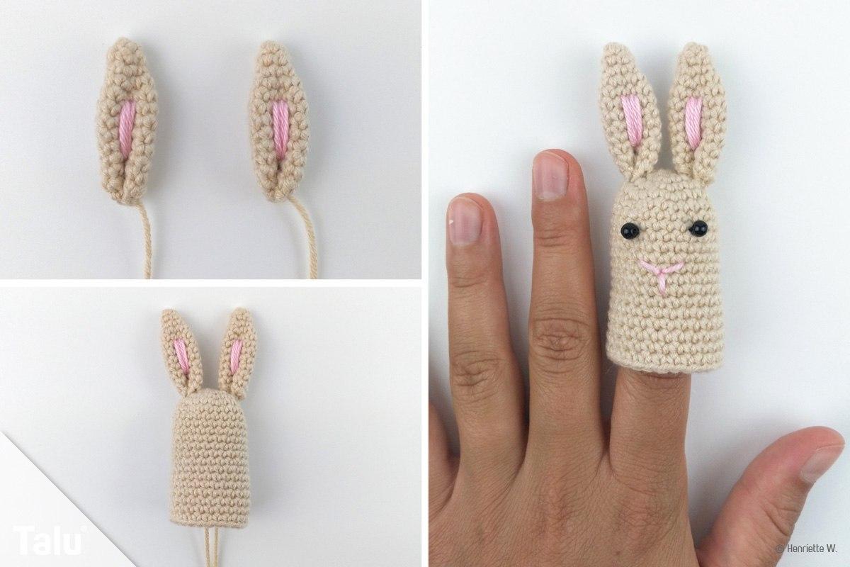 Fingerpuppen häkeln