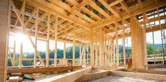 Aufbau einer Holzständerwand