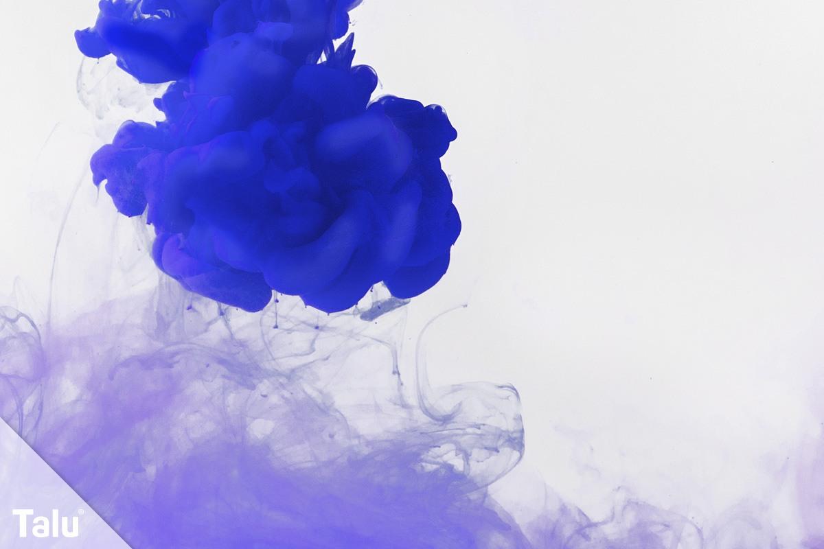 Farbe in Wasser