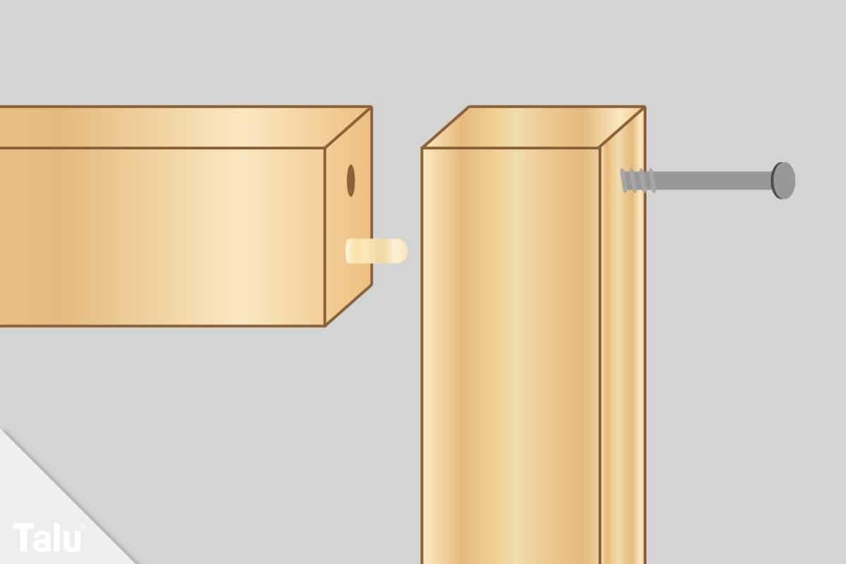 Lattenrost bauen