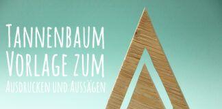 Tannenbaum-Vorlage