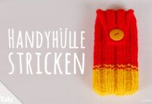 Handyhülle stricken