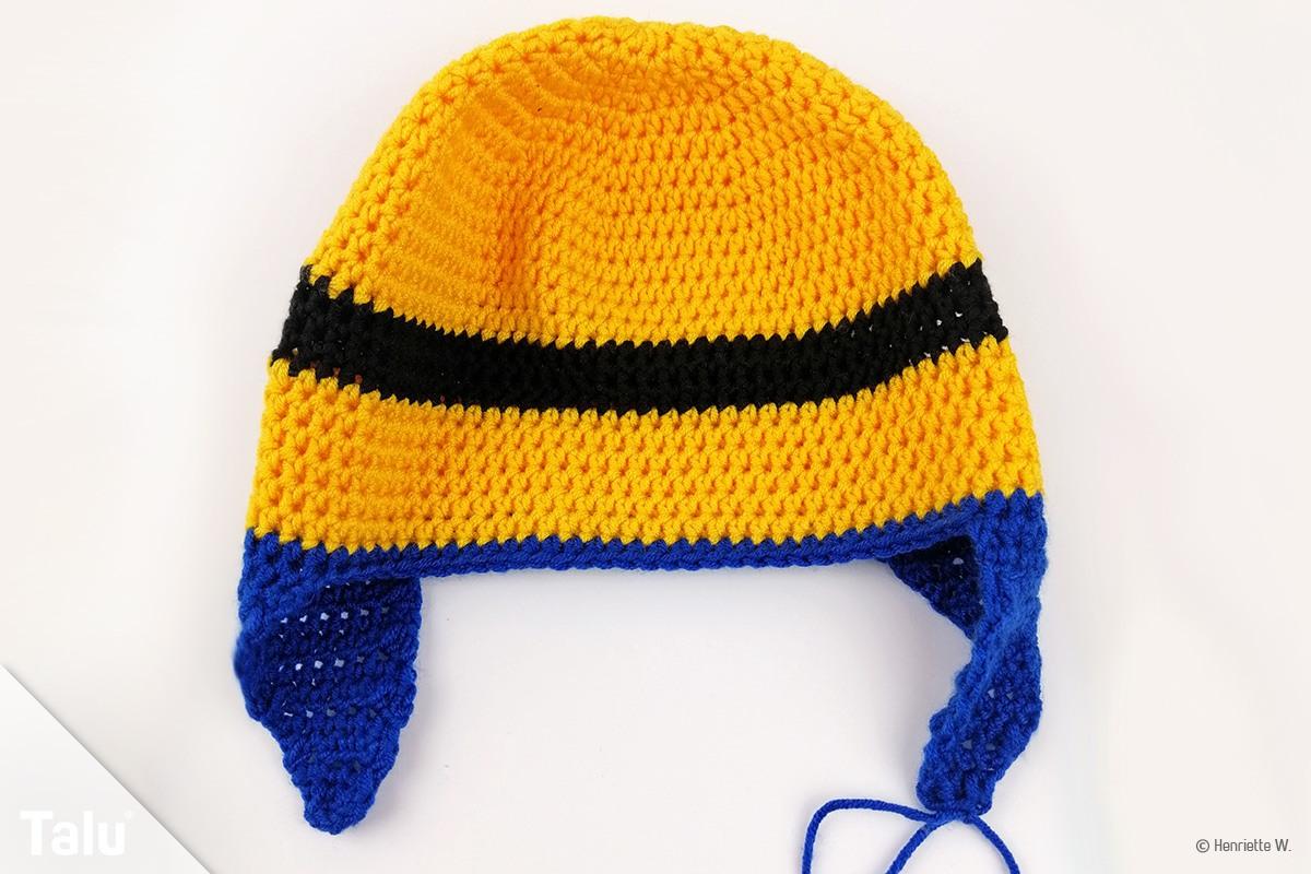 Minion-Mütze häkeln