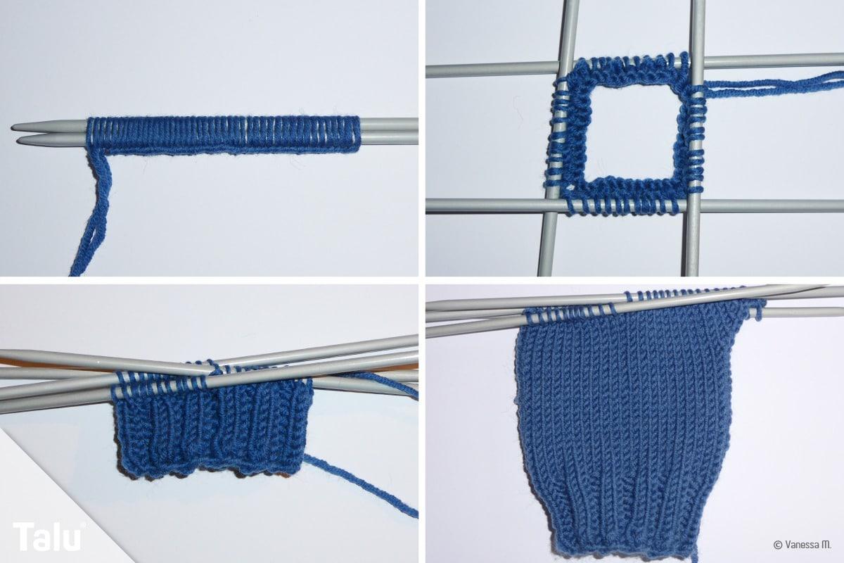 Hose stricken für Puppe
