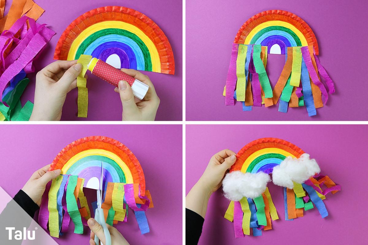 Regenbogen basteln