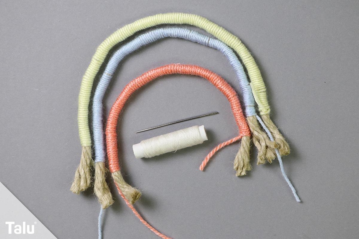 Stricke verbinden