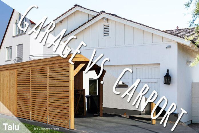Garage vs. Carport