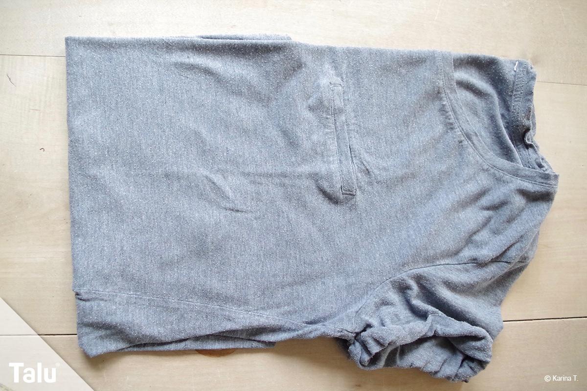 T-Shirt falten