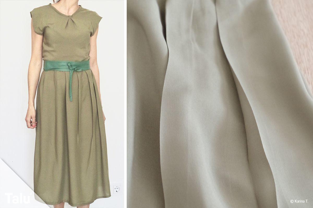 Kleid nähen ohne Schnittmuster