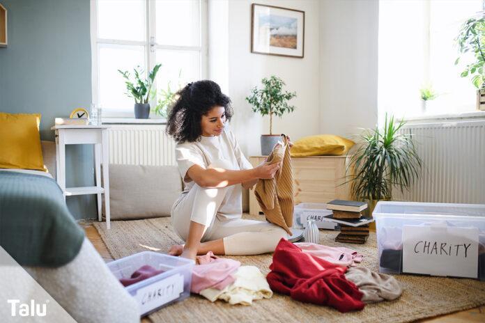 Kleidung und Schuhe aufbewahren