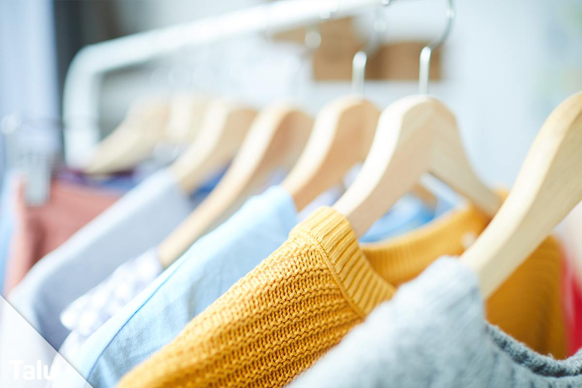 Kleidung aufbewahren