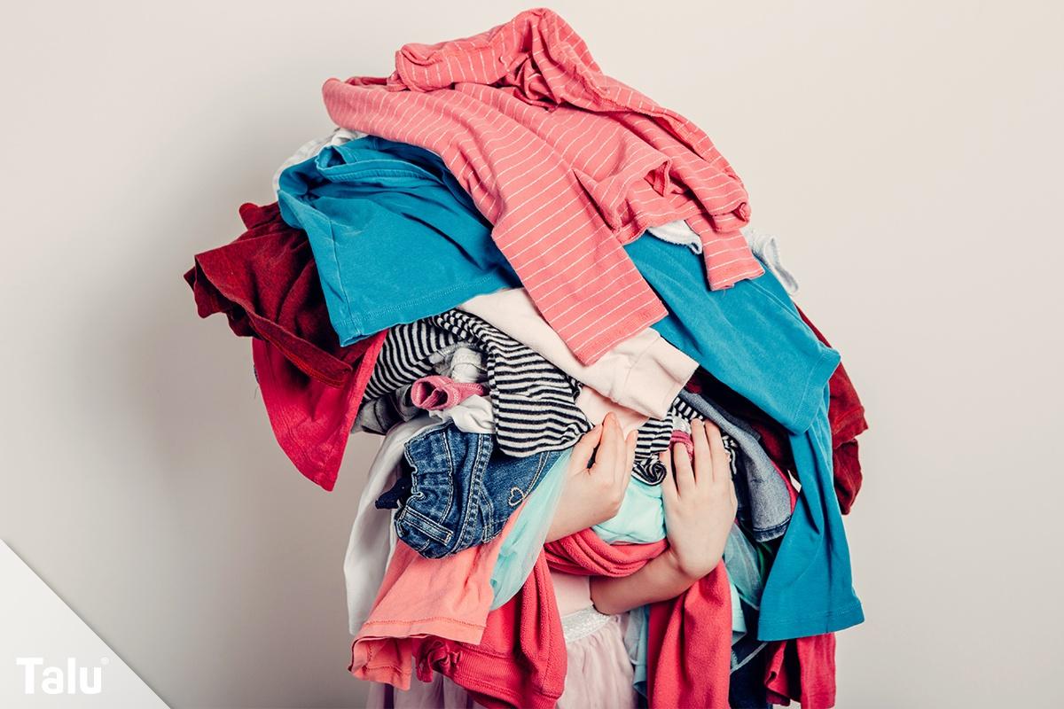Kleidung sortieren