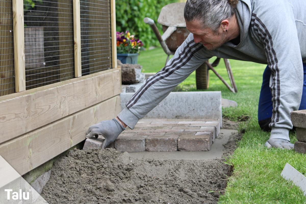 Muskelhypothek: Terrasse bauen