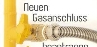 Gasanschluss beantragen
